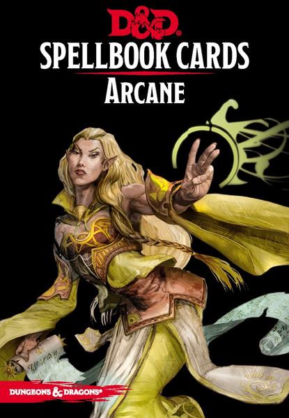 Spellbook Cards Arcane - Cerberus Games