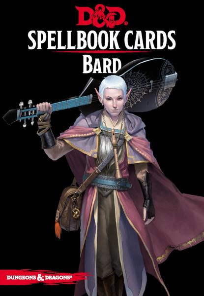 Spellbook Cards Bard - Cerberus Games