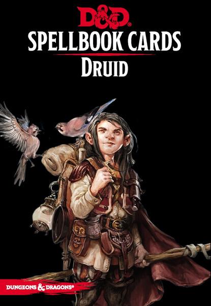 Spellbook Cards Druid - Cerberus Games