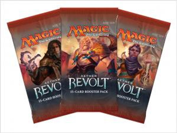 Aether Revolt Booster Pack - Cerberus Games