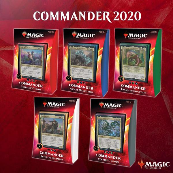 Commander 2020 Deck - Cerberus Games