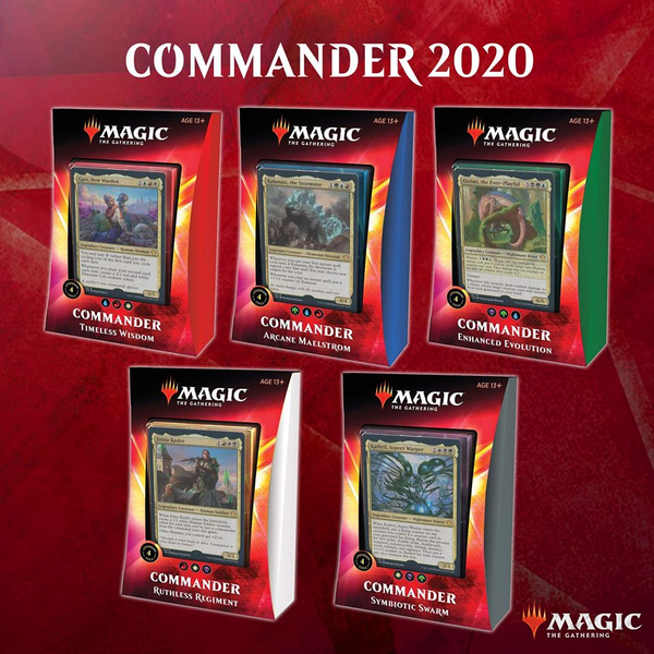 Commander 2020 Deck - Cerberus Games