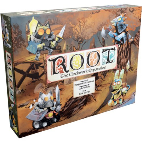 Root Expansion The Clockwork - Cerberus Games