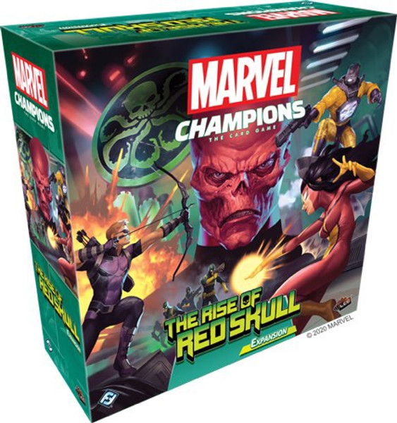 Marvel Champions Expansion The Rise of Red Skull - Cerberus Games