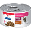 Hill's Prescription Diet Gastrointestinal Biome Digestive/Fiber Care with Chicken Canned Cat Food 24/2.9oz