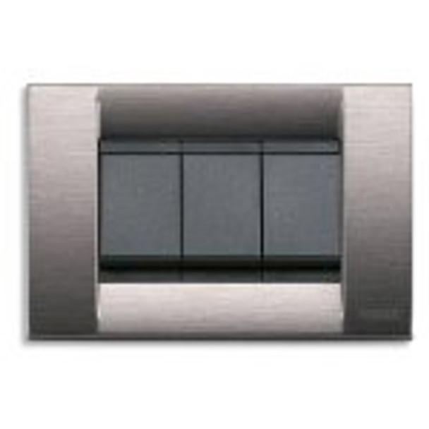 Idea Classica Plate 3M Technopolymer Satin Grey