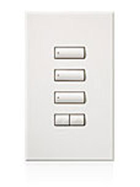 HQWA-W3BSRLN-XX* 3 Button with Raise/Lower Keypad