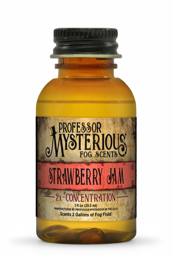 Professor Mysterious Strawberry Jam Fog Scent, 2x concentrate