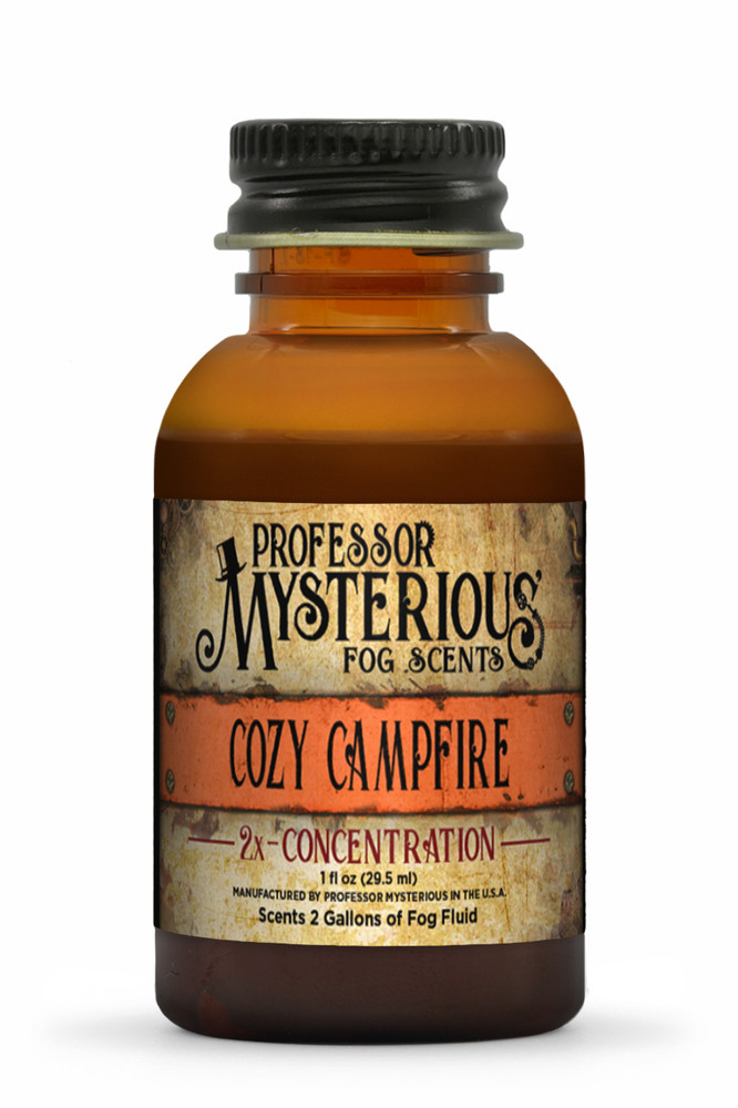 Professor Mysterious Cozy Campfire Fog Scent, 2x concentrate