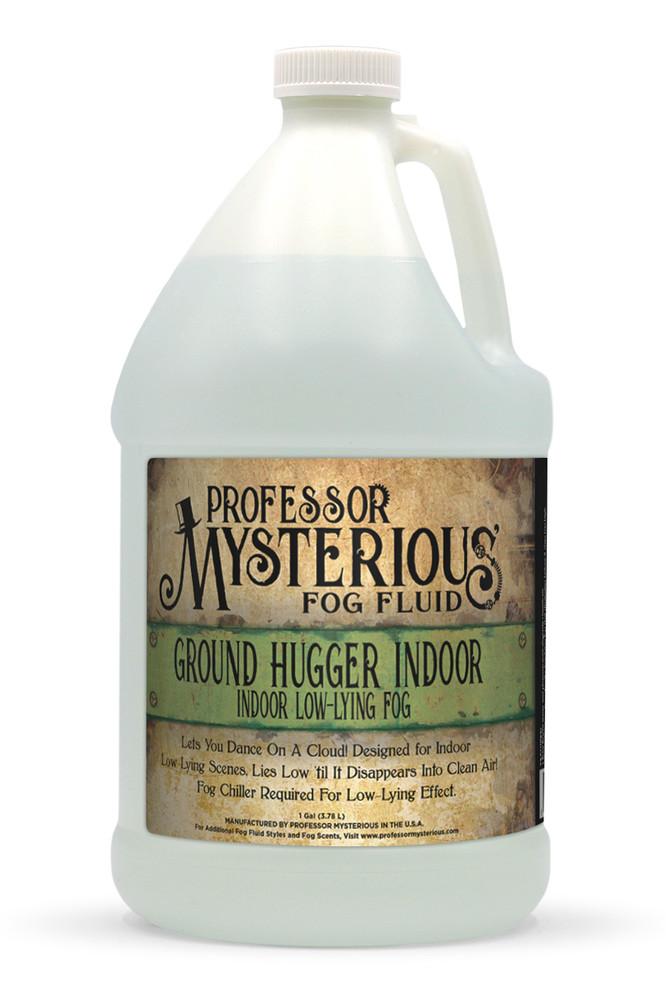 Professor Mysterious Ground Hugger Indoor Fog Fluid, Gallon