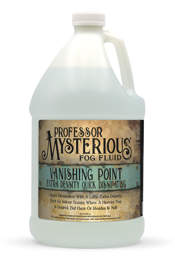Professor Mysterious Vanishing Point Fog Fluid, Gallon