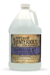 Professor Mysterious Disappearing Act Fog Fluid, Gallon
