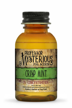 Professor Mysterious Crisp Mint Fog Scent, 2x concentrate