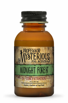 Professor Mysterious Midnight Forest Fog Scent, 2x concentrate