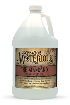 Professor Mysterious The Standard Fog Fluid, Gallon