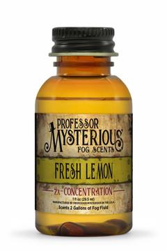 Professor Mysterious Fresh Lemon Fog Scent, 2x concentrate