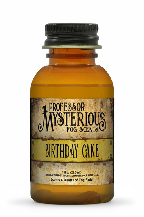 Professor Mysterious Birthday Cake Fog Scent
