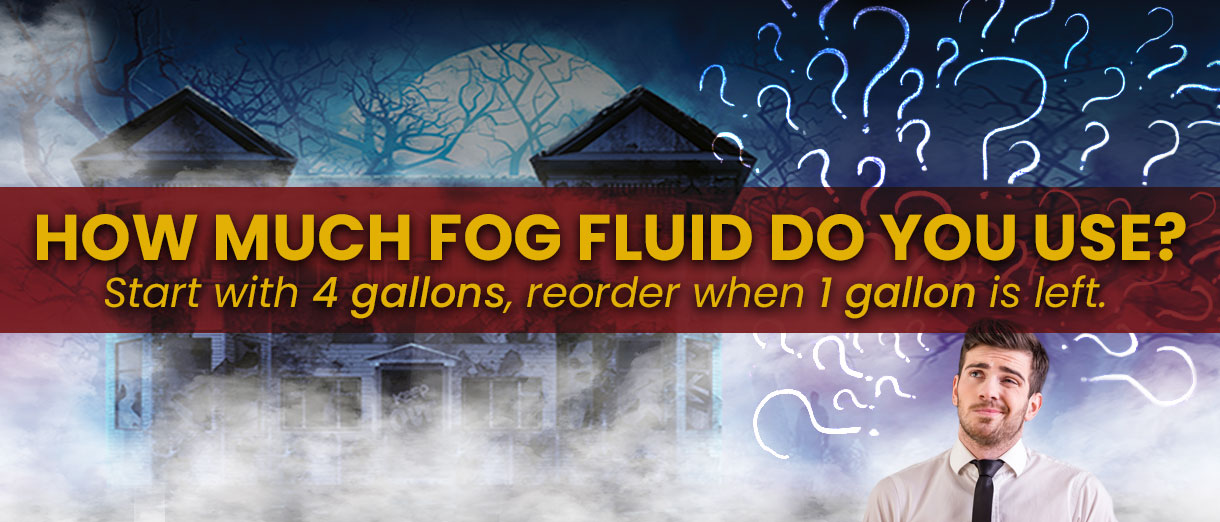 Professor Mysterious Photonic Fog Fluid