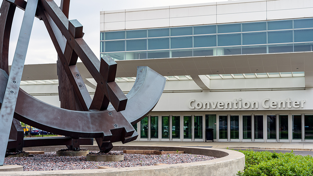 Renaissance Schaumburg Convention Center, being awesome and huge.