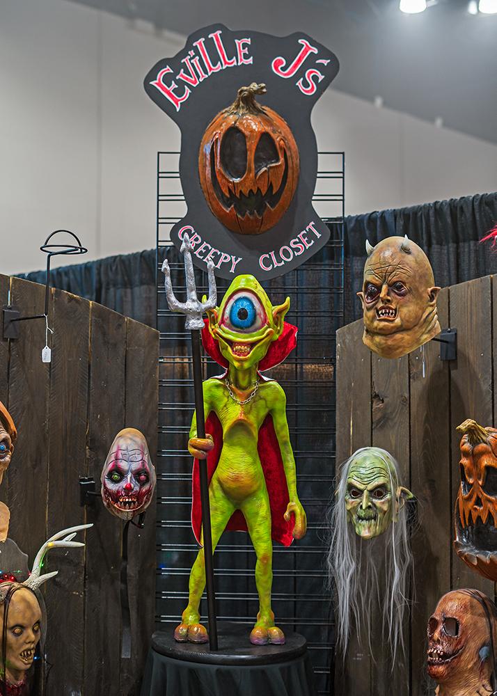 Eville J's Creepy Closet, one of our favorite vendors.