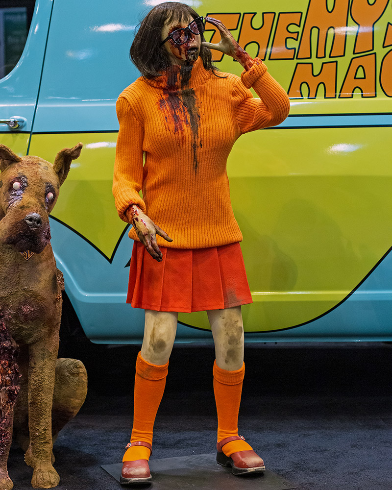 Zombie Velma needs even more brains.