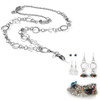 London Fashion Lanyard with Earrings & Bracelets