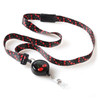 Cherry Fabric Ribbon Lanyard
