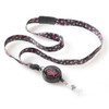 Pink Ladies Ribbon Lanyard