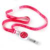 Hope Love Heal Pink Ribbon Lanyard