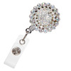 Brilliant Rhinestone Badge Reel