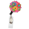 Green Thumb Flower Badge Reel