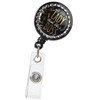 Lady Boss Quote Retractable Badge Reel
