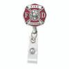 Fire Fighter Badge Reel