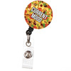 Current Mood Pizza Food Lovers Retractable Badge Reel ID Name Badge Holder