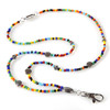 BooJee Beads Janis Colorful Beaded Lanyard ID Badge Holder Necklace
