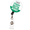 Straight Outta Mommy Labor & Delivery Nurse Retractable Badge Reel - Maternity Ward