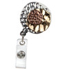 Combo Tri-Colored Metal Retractable Badge Reel