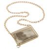 Metallic Gold Envelope ID Holder