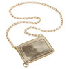 BooJee Beads Metallic Gold Envelope Lanyard ID Holder