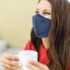 Blue Denim Face Mask with Filter