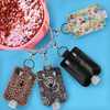 All Hand sanitizer holder designs from BooJee Beads