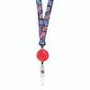 ID Avenue Sock Monkey Fun Patterned Ribbon Lanyard by BooJee Beads