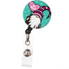 Gnome Be Kind Retractable ID badge reel Cute gnome with heart