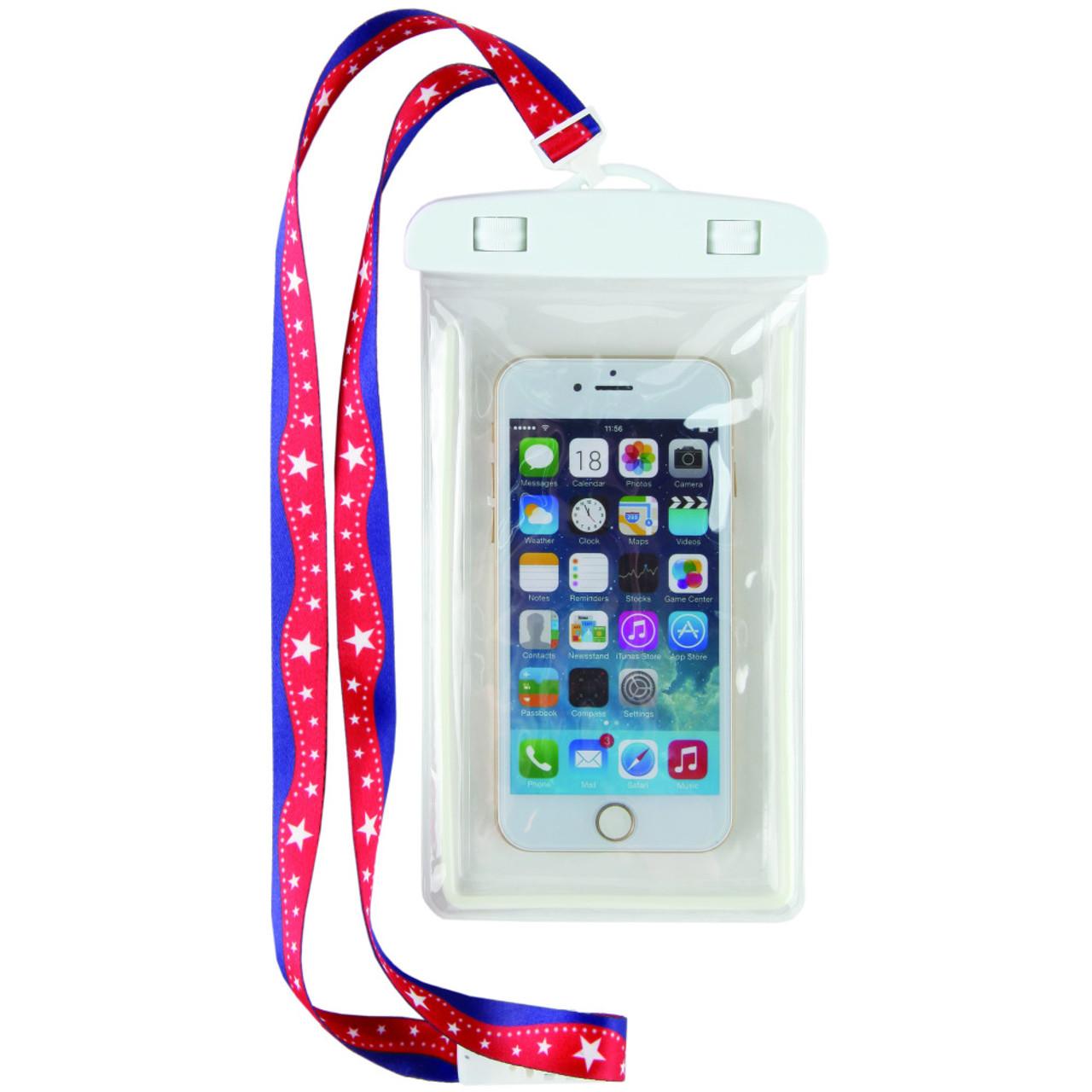 buy online 9b627 4884f Super Stars Waterproof Phone Case Lanyard