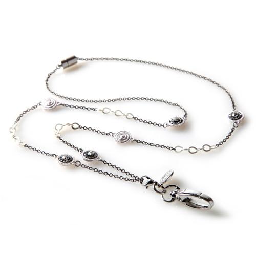 Pierrot Silver Chain Lanyard