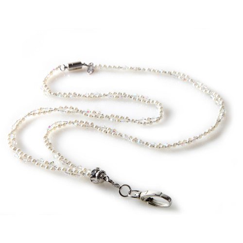 Marlene Beaded Fashion ID Lanyard