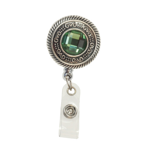 Vintage Round ID Badge Reel