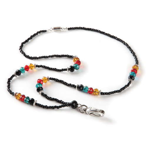 Broadway Beaded Lanyard for Women