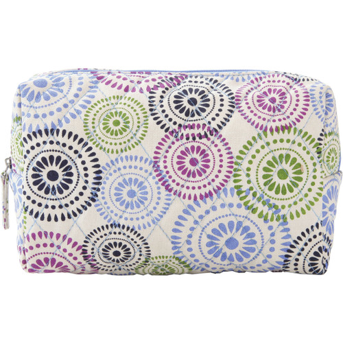 Citrus Zippered Cosmetic Travel Bag