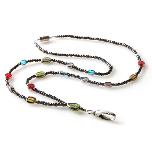 Stained Glass Fashion Beaded Lanyard for Women